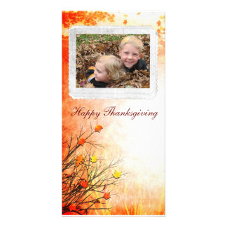 thanksgiving Photcard Personalized Photo Card