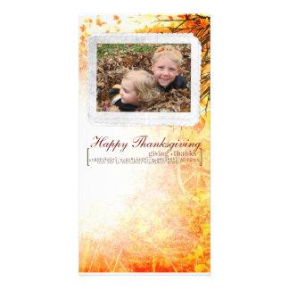 thanksgiving Photcard Photo Greeting Card