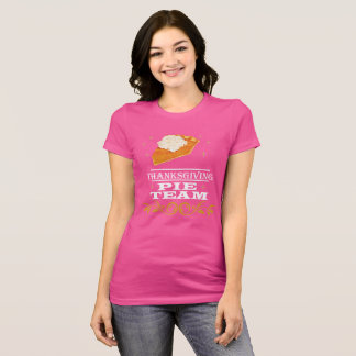 Thanksgiving Pie Team T-Shirt