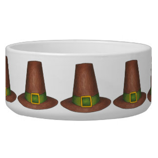 Thanksgiving Pilgrim Hat Hats Pet Bowl