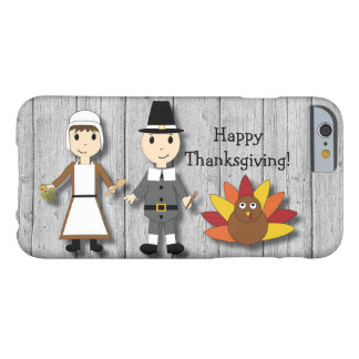 Thanksgiving Pilgrims and Turkey iPhone 6 Case