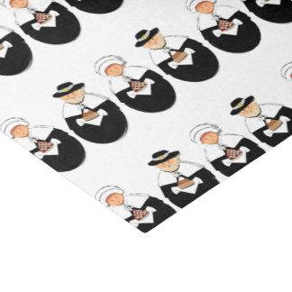 Thanksgiving Pilgrims Tissue Paper