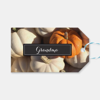 Thanksgiving, Place setting Personalized Name Gift Tags