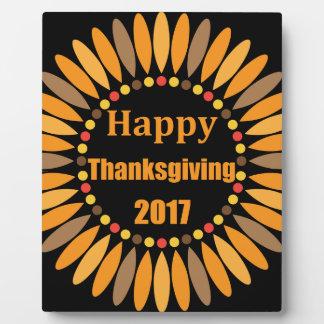 thanksgiving plaque