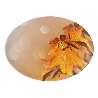 Thanksgiving Porcelain Serving Platter