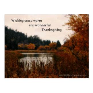 Thanksgiving Post Card