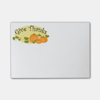 Thanksgiving Post-it-Notes Post-it Notes