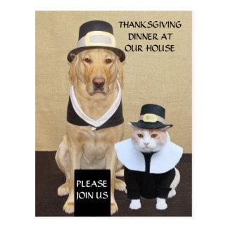 Thanksgiving Postcard/Invitation Postcard