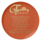 Thanksgiving - Psalm 100 Plate