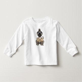 Thanksgiving Pug Dog T Shirt