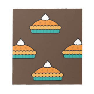 Thanksgiving Pumpkin Pie Pie Dessert Pumpkin Notepad