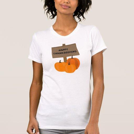 Thanksgiving Pumpkins T Shirt