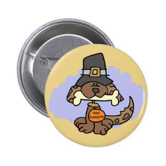 Thanksgiving Puppy button