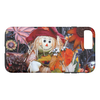 Thanksgiving Rag Doll Amongst Autumn Harvest Scene iPhone 8 Plus/7 Plus Case