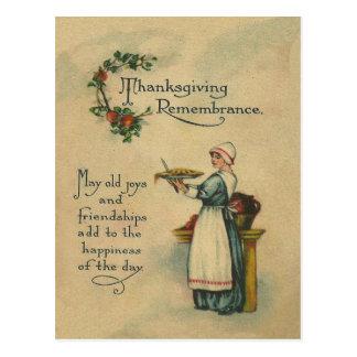 Thanksgiving Remembrance Postcard