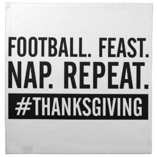 Thanksgiving Repeat Napkin