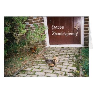 Thanksgiving, Robert E. Lee Estate, Virginia Card