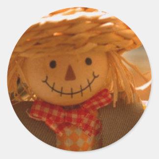 Thanksgiving Scarecrow Sticker