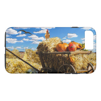 Thanksgiving Straw Wagon in the Field iPhone 8 Plus/7 Plus Case