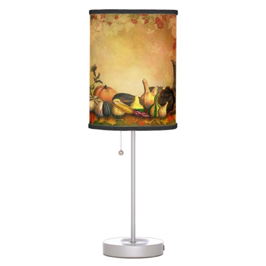 Thanksgiving Table Lamp