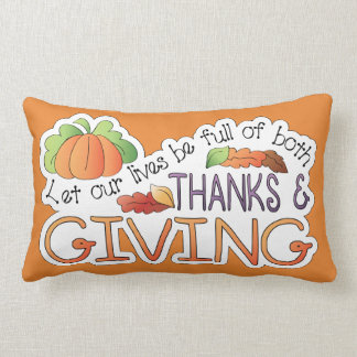 Thanksgiving Throw Pillow