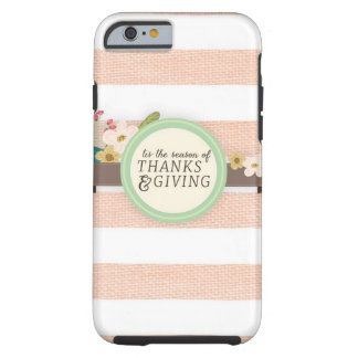 thanksgiving tough iPhone 6 case