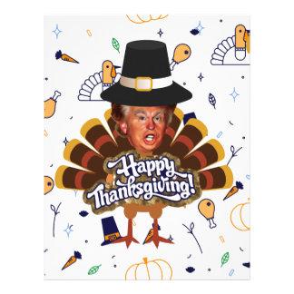 """thanksgiving trump turkey letterhead"