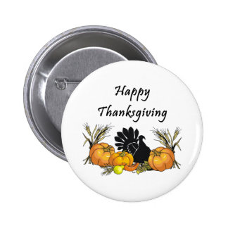 Thanksgiving Turkey Button