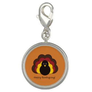 Thanksgiving turkey charms