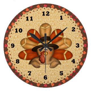 Thanksgiving Turkey clock