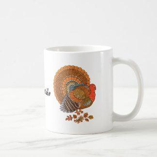Thanksgiving Turkey Coffe Mug
