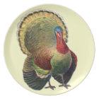 Thanksgiving Turkey Decorative Melanine Plate