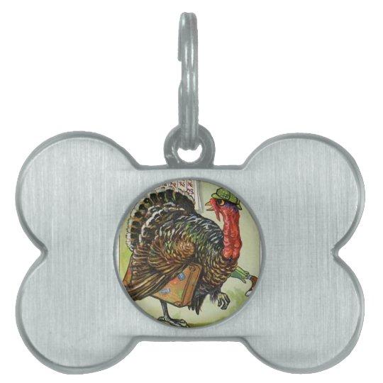 Thanksgiving Turkey Post Tag