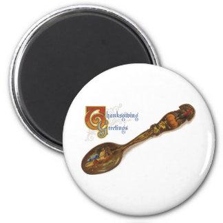 Thanksgiving Turkey Spoon Magnet