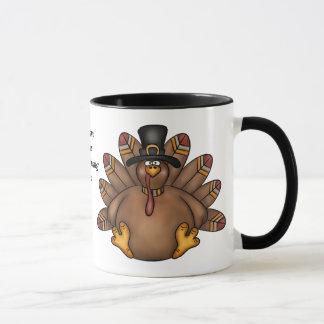 Thanksgiving Turkey Table mug