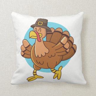 Thanksgiving Turkey throw pillows