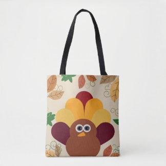 Thanksgiving Turkey Tote Bag