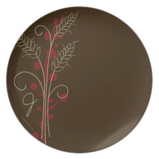 Thanksgiving Wheat Plate