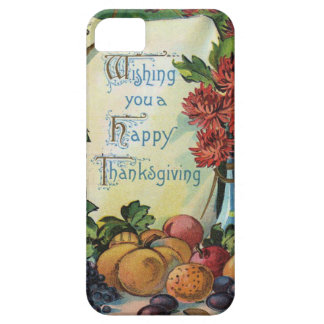 Thanksgiving Wishbone Fruit Vase Flowers iPhone 5 Cases