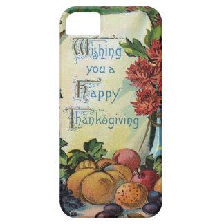 Thanksgiving Wishbone Fruit Vase Flowers iPhone 5 Cases