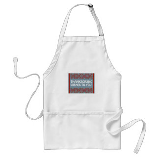 Thanksgiving Wishes Apron