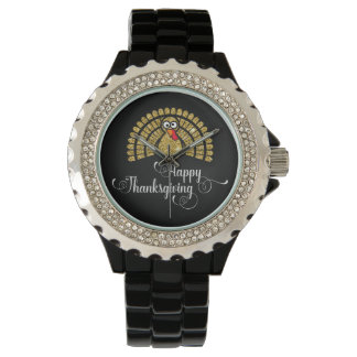 Thanksgiving wristwatch