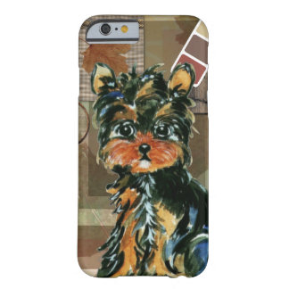THANKSGIVING YORKIE BARELY THERE iPhone 6 CASE