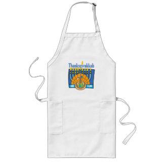 Thanksgivukkah apron