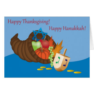 Thanksgivukkah Card (Thanksgiving and Hanukkah) 4