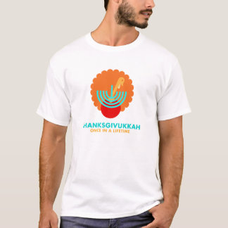 thanksgivukkah one in lifetime T-Shirt