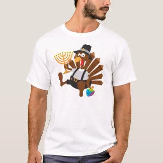 thanksgivukkah special unieque t-shirt