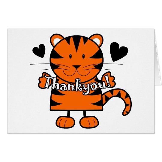 Thankyou Tiger Card