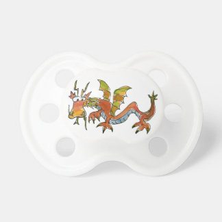 Thar Be Dragons Pacifier