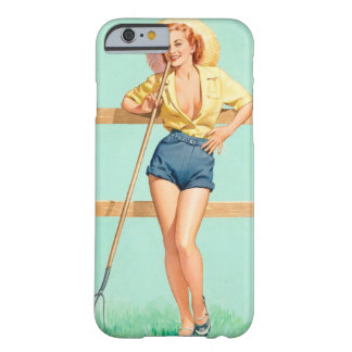 That Ain't Hay Pin Up Art Barely There iPhone 6 Case